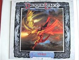 Dragonlance Lancedragon Calendrier Calendar 1988 - Calendriers
