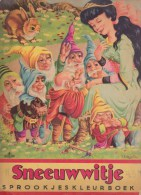 Sneeuwwitje    Sprookjesleurboek - Boeken, Tijdschriften, Stripverhalen