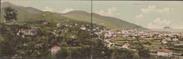 Superbe - Carte Vue Triple  Qui Se Replie Sur Elle Même  Alassio Panorama - Italia