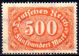 GERMANY 1922 Numeral - 500m. - Orange On Buff   MH - Ungebraucht