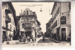 F 74200 THONON - Les - Bains, Rue Des Arts, 1906, Librairie Pellissier - Thonon-les-Bains