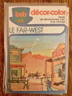Decalcomanie - Bsb Decor Color - Le Far West - Old Paper