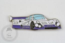 Jaguar Silk Cut Racing Car - Pin Badge #PLS - Jaguar