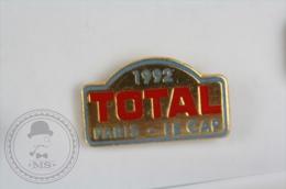 1992 Total Paris - Le Cap Rally - Pin Badge #PLS - Rallye