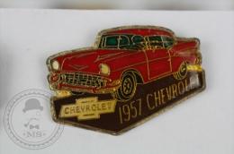 1957 Chevrolet Classic Car - Pin Badge #PLS - Pin