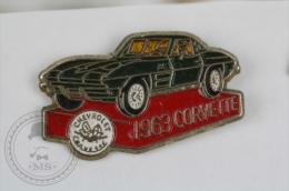 1963 Chevrolet Corvette Classic Car - Pin Badge #PLS - Corvette