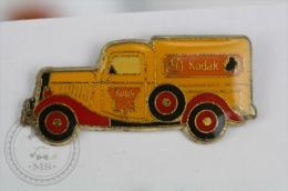 Kodak Old Yellow Truck  - Advertising Pin Badge #PLS - Pin