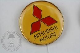 Mitsubishi Motors Car Logo - Pin Badge #PLS - Mitsubishi