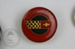 Corvette Car Logo - Pin Badge #PLS - Corvette