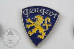 Old Peugeot Car Logo - Pin Badge #PLS - Peugeot