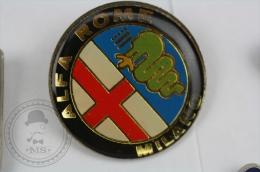Alfa Romeo Milano Car Logo - Pin Badge #PLS - Alfa Romeo