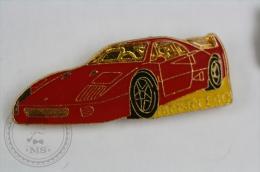 Ferrari F40 Car - Pin Badge #PLS - Ferrari