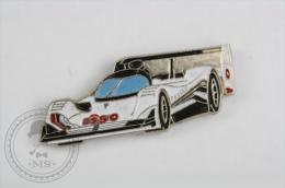 Peugeot ESSO Racing Car - Pin Badge #PLS - Peugeot