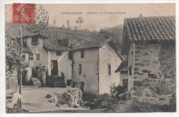 87.108 / ST JUNIEN - Int�rieur du village de Glane