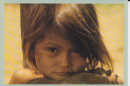 CPM AMAZONIE PERUVIENNE JEUNE CAMPA ENFANT JEAN MICHEL KLOPP PHOTO MOLINS