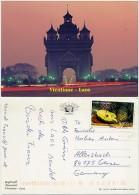 Laos - Vientiane - Anusavari - Used - Nice Stamp - Laos