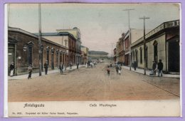 AMERIQUE --  CHILI --  ANTAFAGASTA --  Calle Washington - Chili