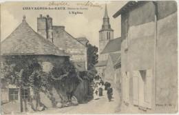 CPA 49 Chavagnes Les Eaux - Carte Rare - L'Eglise - Thouarce