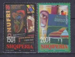 Europa Cept 2003 Albania 2v ** Mnh (S104) - Europa-CEPT