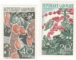 GABON : Production Agricole :  Y&T :* * : 231-232 - Gabon (1960-...)