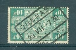 """BELGIE - OBP Nr TR 162 (plooi/pli) - Cachet  """"QUENAST"""" - (ref. 3842) - 1923-1941"""