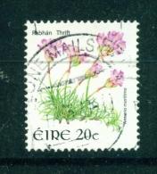 IRELAND  -  2004  Wild Flower Definitives  Thrift  20c  Used As Scan - 1949-... Republic Of Ireland