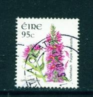 IRELAND  -  2004  Wild Flower Definitives  Purple Loosestrife  95c  Used As Scan - 1949-... Repubblica D'Irlanda
