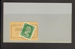 Altdeutschland Württemberg Owen Wanderstempel Auf Briefstück M.Marke D.Dt.Reiches - Wuerttemberg