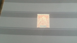 LOT 228314 TIMBRE DE COLONIE DIEGO SUAREZ NEUF(*) N�47 VALEUR 16 EUROS