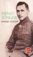 Orages D'acier. Guerre 1914 1918 Allemagne. Ernst Junger - French