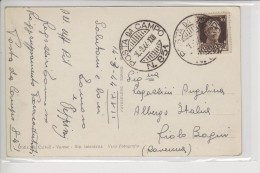 Posta Da Campo N. 851 In Partenza 16.3.1944 -Raggruppamento Paracadutisti Tradate - Storia Postale