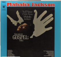 * 2LP Box *  MAHALIA JACKSON - YOU'LL NEVER WALK ALONE (GREATEST GOSPEL HITS) (Germany 1968 EX!!!) - Gospel En Religie