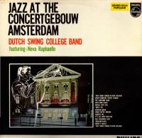 * LP *  DUTCH SWING COLLEGE BAND - JAZZ AT THE CONCERTGEBOUW AMSTERDAM - Jazz