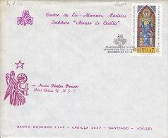 Chile 1982. Weltkongress Der Maristen (5.755) - Chile