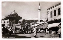 SARAJEVO - Auf Der Bascarsija, Fotokarte 1930 - Jugoslawien