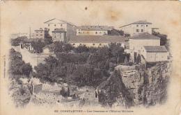 Algeria Constantine Le Casernes Et L'Hopital Militaire 1905 - Constantine