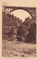 Algeria Constantine Entree Des Gorges Du Rummel Et La Grande Arche Du Pont Sidi-Rached - Constantine