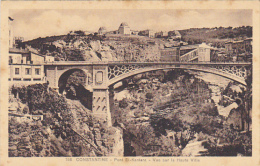 Algeria Constantine Pont El-Kantara Vue sur la Haute Ville
