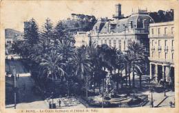 Algeria Bone Le Cours Bertagna Et L'Hotel De Ville - Constantine