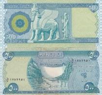 Iraq - 500 Dinars 2004 UNC Lemberg-Zp