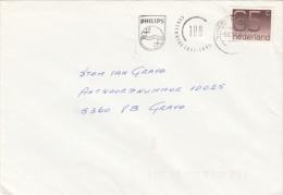 Envelop 5 Jun 1991 's Hertogenbosch (machinestempel 100 Jaar Philps) - Postal History