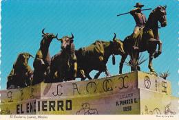 Mexico Juarez El Encierro Monument To The Bulls