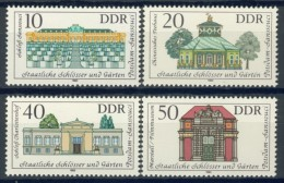 BL3-489 DDR, EAST GERMANY 1983 MI 2826-2829 SCHLOSSER, CASTLES, CHATEAUX, KASTELEN. MNH, POSTFRIS, NEUF** - Kastelen