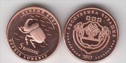 CHUVASHIA 5 Kopeek 2014 Animal Serie, Bug, Unusual Coinage - Monete