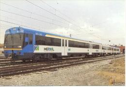7f-878. Postal UT. MV 202 Para FC. Metro Regional De Valparaiso - Metro
