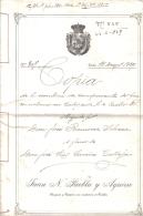 ESCRITURA DE COMPRA VENTA AÑO 1929 - Documentos Históricos