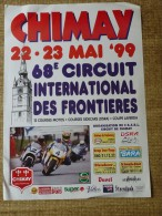 Circuit de Chimay--  68e CIRCUIT NTERNATIONAL DES FRONTIIERES 22-23 MAI '99