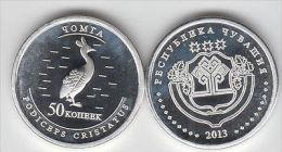 CHUVASHIA 50 Kopeek 2013 Birds Serie, Usual Coinage - Monete