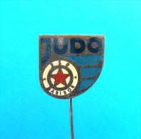 JUDO CLUB MARIBOR ( Slovenian very old pin ) * badge distintivo anstecknadel