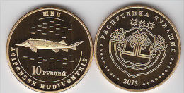 CHUVASHIA 10 Rubles 2013 Animals Serie, Usual Coinage - Monete